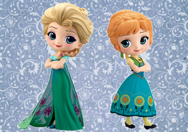 Q posket Disney Character -Elsa&Anna Surprise Coordinate-ノーマルペアセ
