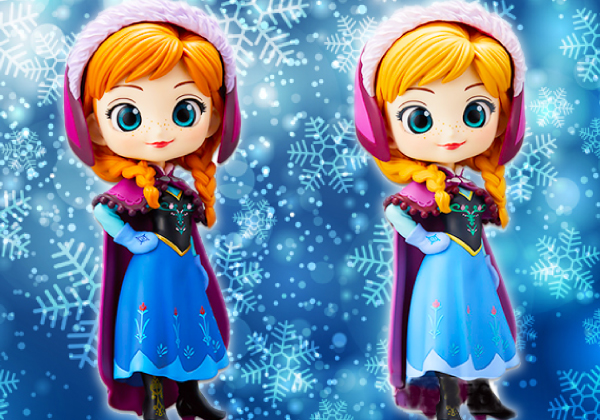 Q posket Disney Characters -Anna- ノーマル・レア セット